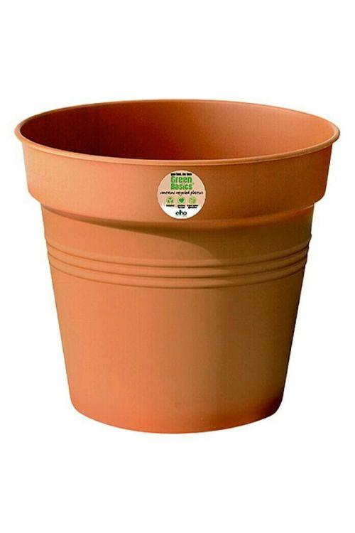 Cvetlični lonec Elho Green Basics (40 cm, rdeč)