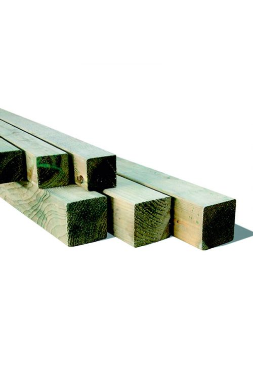 Leseni steber Silvan Colormix (70 x 70 x 2100 mm, bor, impregnirano v kotlu pod pritiskom)