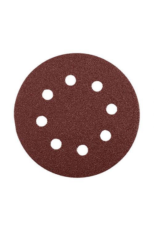 Set brusnega papirja Craftomat (premer: 115 mm, granulacija: 80, 120, 240)