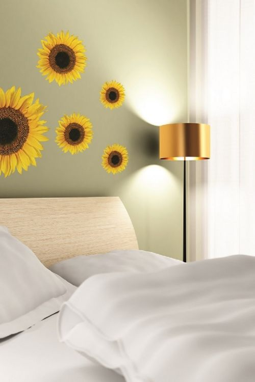 Dekorativna nalepka Sunflower (2 delna, PVC)