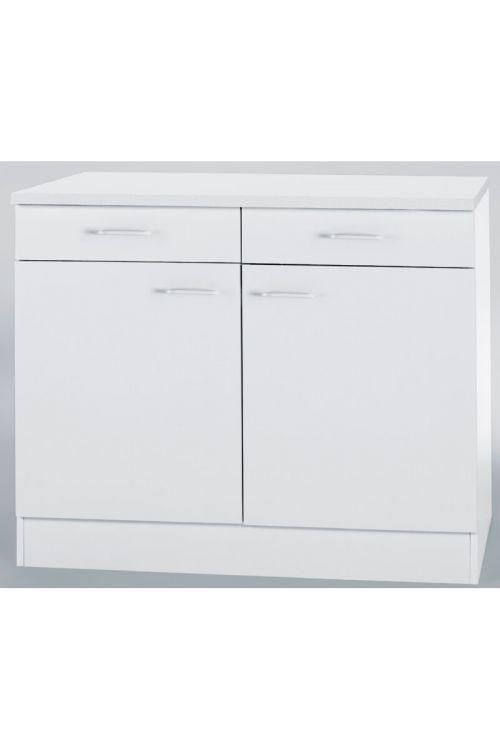 Spodnja omarica Klassik (100 x 50 x 84,5 cm, bela)