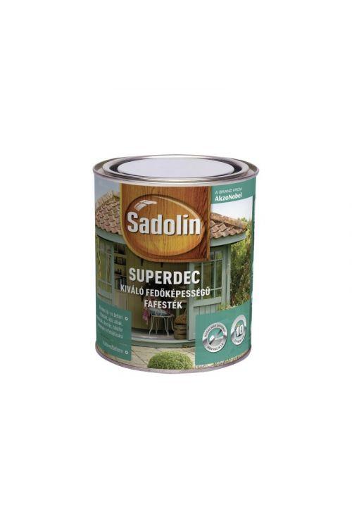 Barva za zaščito pred vremenskimi vplivi Sadolin (bela, svilnato sijoča, 2,5 l)