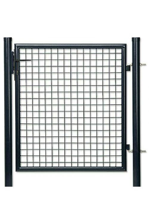 Ograjna vrata Gardenfuchs (1 x 1 m, antracit)