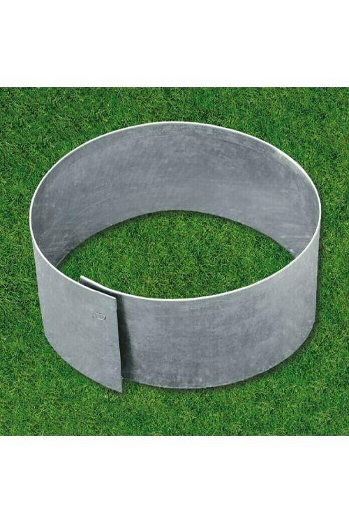Okrogli robnik za travo Bellissa (40 x 13 cm, pocinkana kovina)