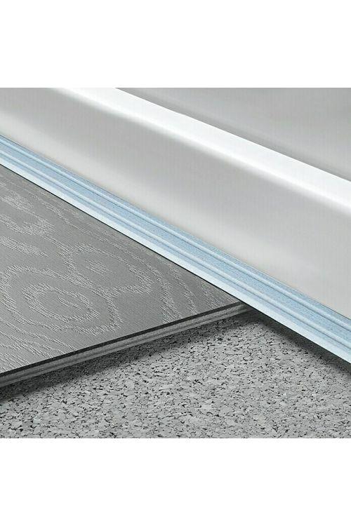 Kotni profil LOGOCLIC (2700 x 24,5 x 20 mm, srebrni, samolepilni)