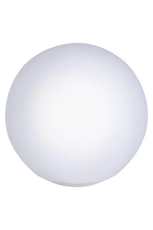 Solarna plavajoča krogla Premium (premer: 30 cm, barva senčnika: bela, IP67)