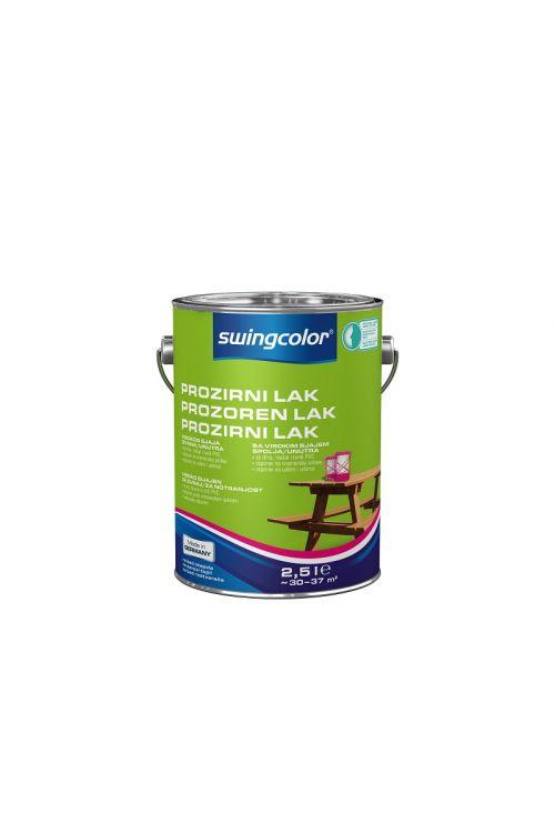 Visokosijajni prozorni lak za les SWINGCOLOR (2,5 ml)