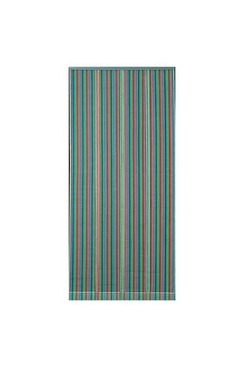 Zavesa za vrata Moskito Fresh (90 x 200 cm, sivo-pisana)