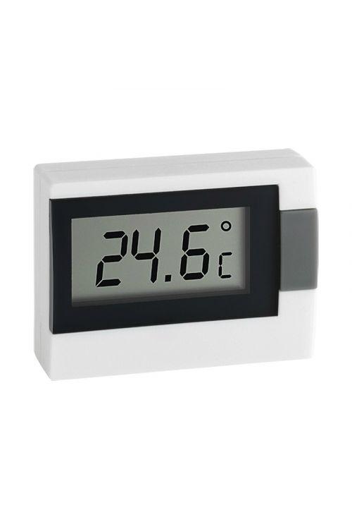 Digitalni termometer TFA (5,4 cm, bel, z baterijo)