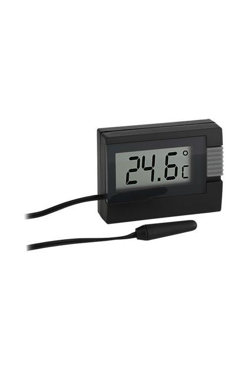 Digitalni termometer TFA (14,4 cm, črni)