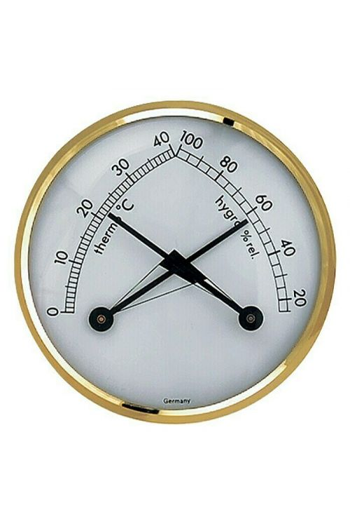 Termo-higrometer TFA Dostmann Klimatherm (analogni, premer: 7,1 cm)