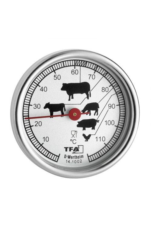 Termometer za peko TFA (12 x 5 cm, nerjaveče steklo)