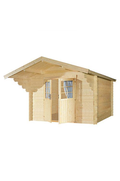 Vrtna hiška Helsinki (9 m², 28 mm, lesena)
