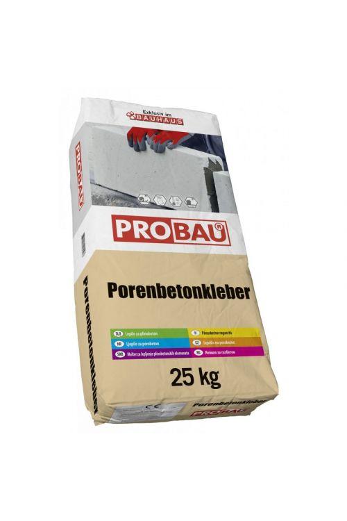 Lepilo za porobetonske zidake Probau (25 kg)