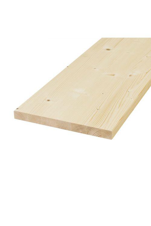 Masivna plošča, smreka (800 x 200 mm, 28 mm)