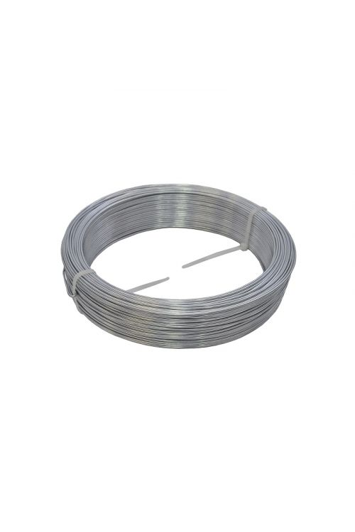 Žica (premer: 2,5 mm, dolžina: 100 m, jeklena, pocinkana)