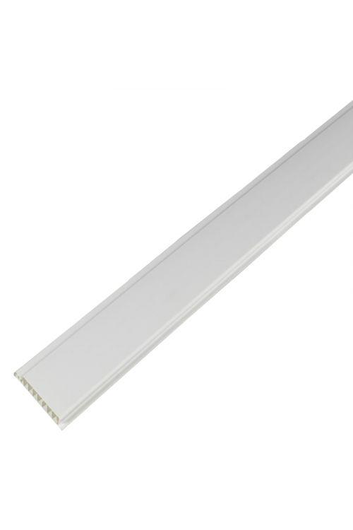 PVC panel (PVC, za zunaj, beli, 270x10cm)
