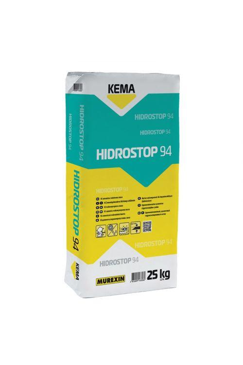 Cementna vodotesna masa KEMA HIDROSTOP 94 (25 kg, za notranjo in zunanjo uporabo)