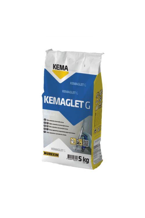 Cementna izravnalna masa KEMA Kemaglet G (5 kg, barva: bela)