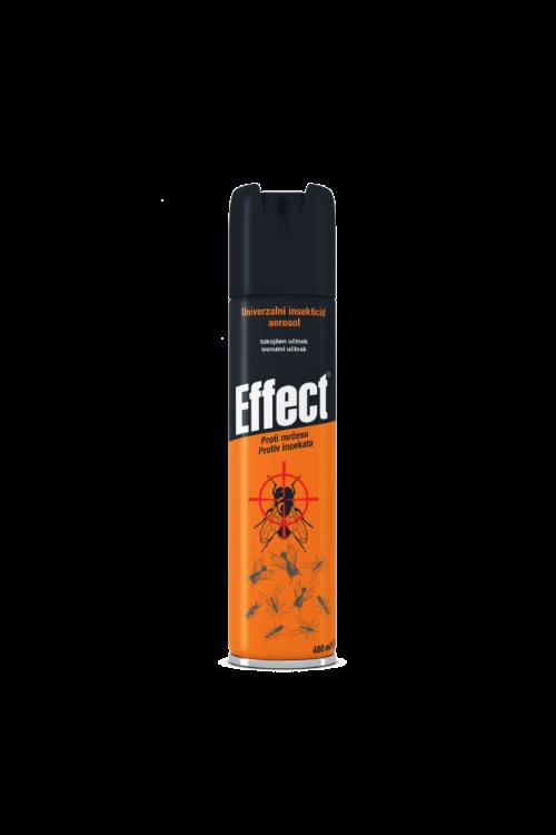 Univerzalni insekticid aerosol Effect (400 ml, za zaščito pred vsemi vrstami mrčesa, takojšnji in dolgotrajen učinek)