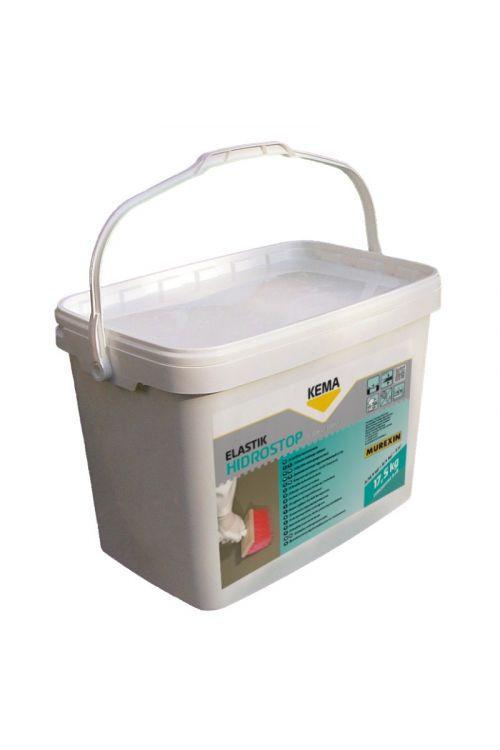 Elastična vodotesna masa KEMA Hidrostop elastik (za notranjo in zunanjo uporabo, 12,5 + 5 kg)