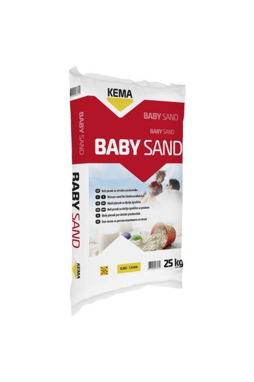 Pesek za otroški peskovnik KEMA Baby sand (25 kg, zrnatost:  0,063-1,0 mm)