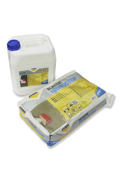 Elastična vodotesna masa KEMA Hidrostop elastik  (za notranjo in zunanjo uporabo, dolgotrajna UV obstojnost)