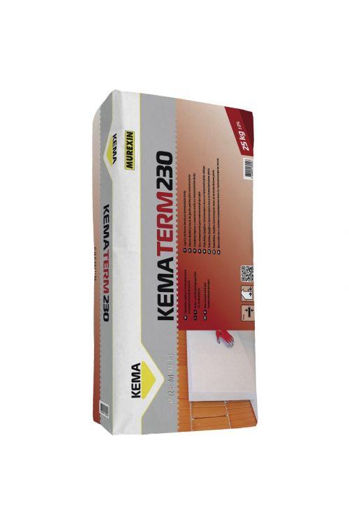Lepilna in izravnalna masa za toplotnoizolacijske plošče Kematerm 230  (25 kg)