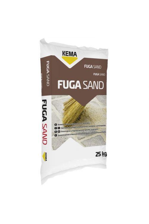 Kremenov pesek za fugiranje KEMA Fuga Sand 80 (25 kg, zrnavost: 0,1–0,8 mm)