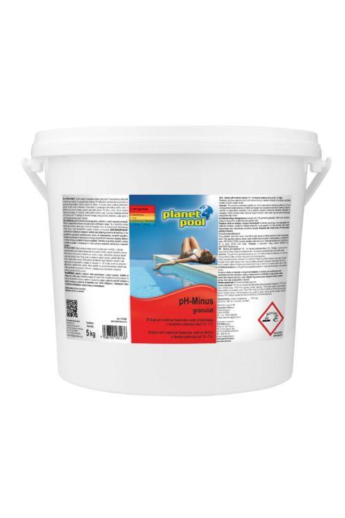 Granulat pH minus (zniževanje pH vrednosti, 5 kg)