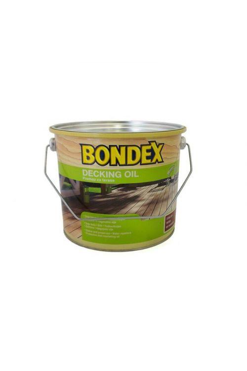 OLJE ZA TERASE BONDEX DECKING OIL  (2,5 l, za zunanje terase in lesene fasade, na vodni osnovi, brezbarvno)_2