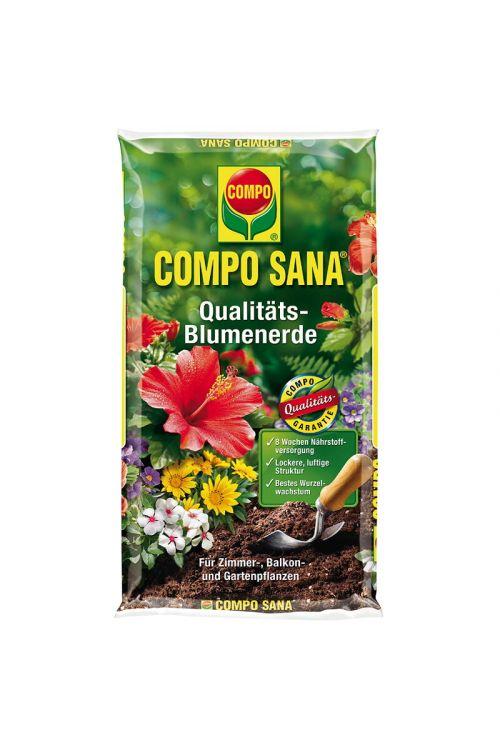 Substrat za zelene in cvetoče balkonske rastline Compo Sana (10 l)