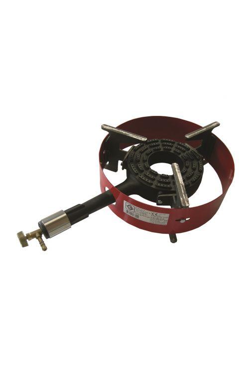 Plinski gorilnik z obročem GORENC G1ZO (9 kW, š 30 x v 54 x g 13 cm, lito železo)