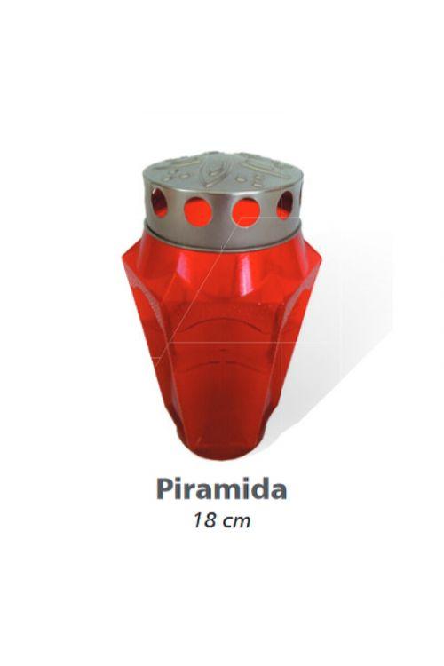 Sveča Piramida (18 cm, set 8/1)