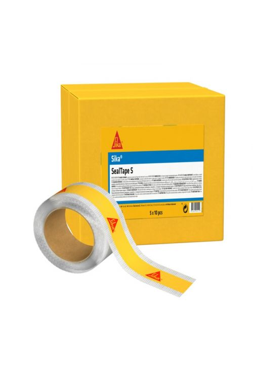 Trak za stike Sika SealTape-S (hidroizolacijski trak za tesnjenje oboda, širina: 10 cm, dolžina: 10 m)
