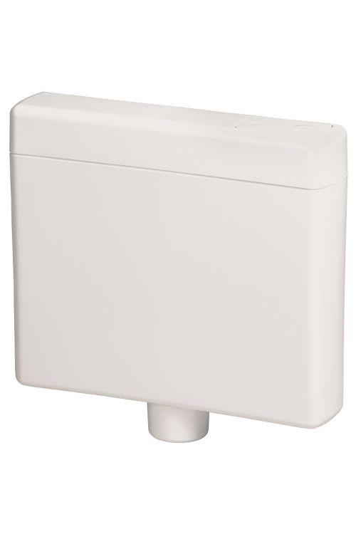 Kotliček Liv Ciklon (bela, količina vode 6-9 l, stop tipka, nizka ali visoka montaža, 40 x 46 x 13,5 cm)