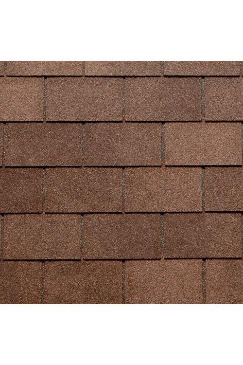 Bitumenska skodla Tegola Canadese (pravokotna, 3,5 m², 24 kosov, rjave barve)
