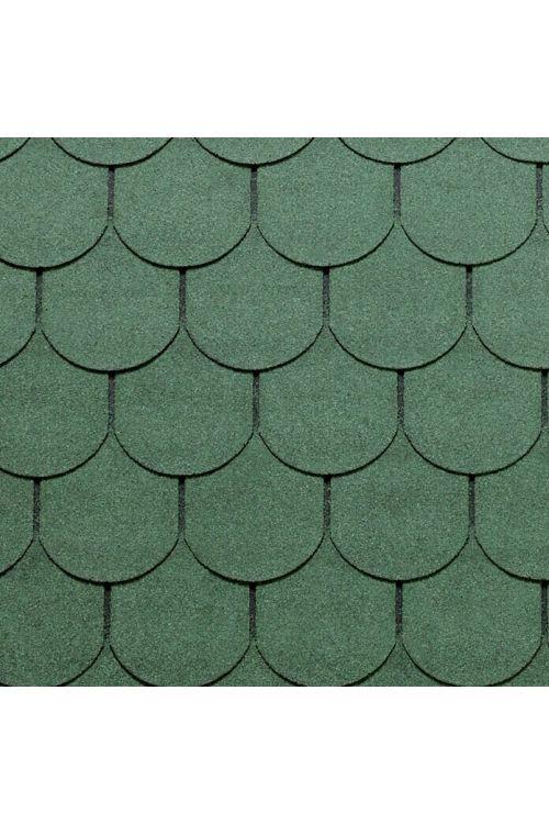 Bitumenska skodla Tegola Canadese (oblika bobrovca, 3,5 m², 24 kosov, zelene barve)