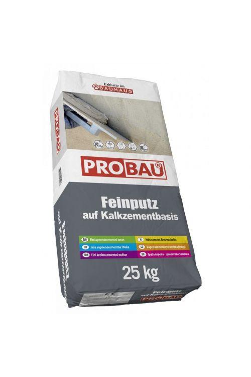 Fini omet Probau  (25 kg, Sive barve, za nanos do 2 cm)