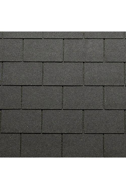 Bitumenska skodla Tegola Canadese (pravokotna, 3,5 m², 24 kosov, črne barve)