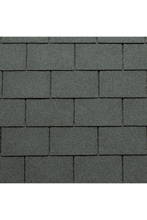 Bitumenska skodla Tegola Canadese (pravokotna, 3,5 m², 24 kosov, temno siva)