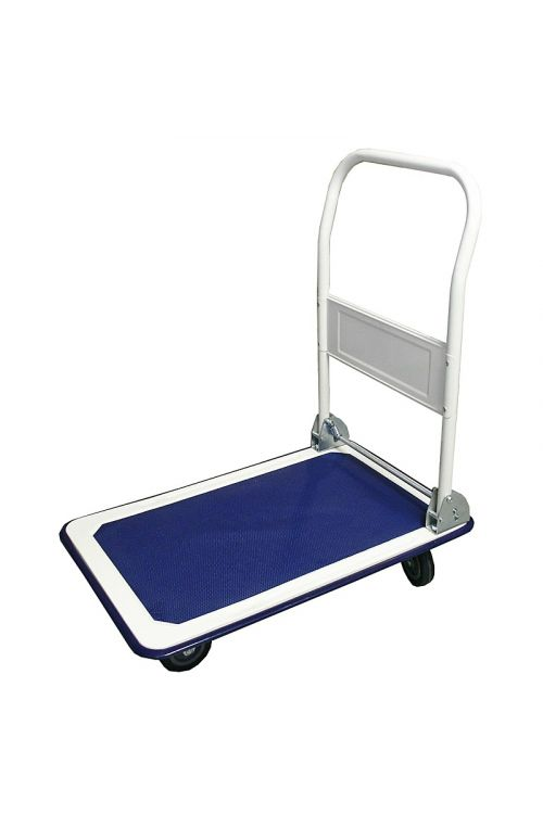 Voziček s platformo Plato (150kg, modro-bel)