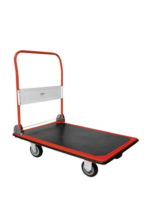 Voziček s platformo Plato (150 kg, rdeč)
