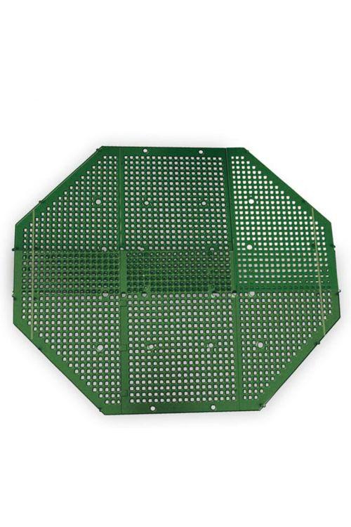 Talna mreža za kompostnik Juwel (82 x 82 cm, plastična, zelena)