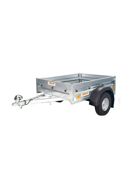 Avtomobilska prikolica PRATIK 5-155 (notranje mere: 155 x 114 x 30 cm, nosilnost: do 550 kg)