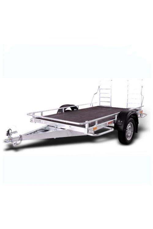 Avtomobilska prikolica GN027 Multi (240 x 136 x 100 cm, nosilnost: do 554 kg)