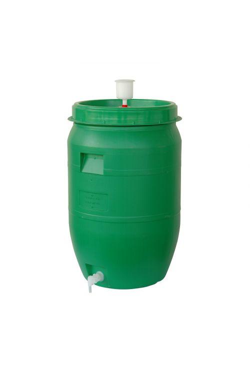 Sod s pipo in vrelno veho (120 l, plastičen, zelen)