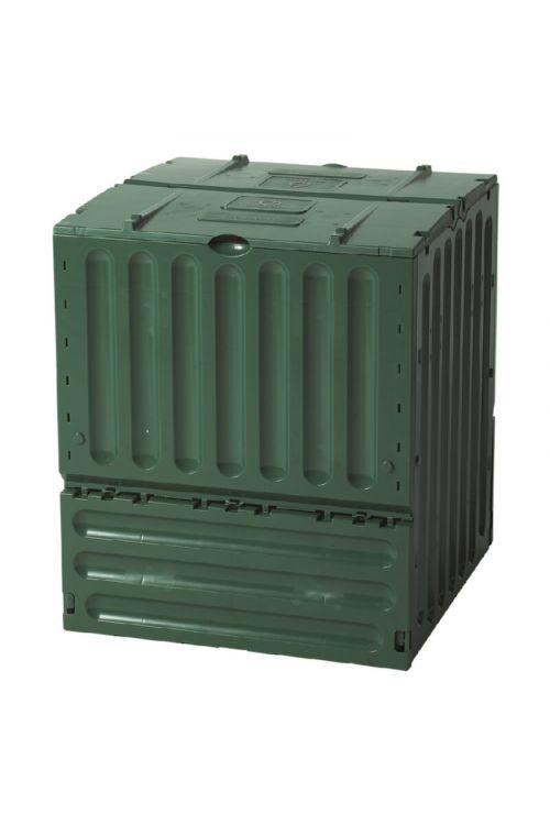 Kompostnik ECO King (400 l, 75 x 75 x 85 cm, plastični)