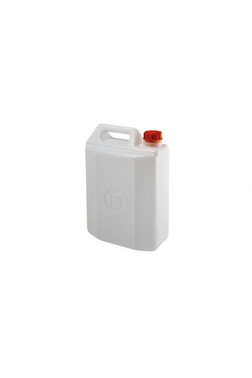 Kanister (15 l, plastičen, bel)