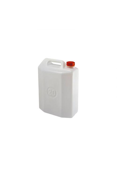 Kanister 20 l (20 l, primeren za shranjevanje pijače, bele barve)